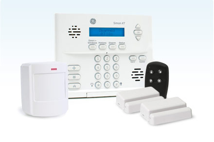 Premium DIY Security Package - Interactive services and interior motion sensors.