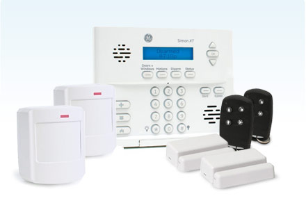 The Works DIY Security Package - 2 way communication and home automation.
